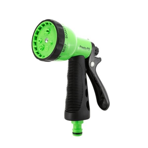 Пистолет для полива Presto-PS насадка на шланг пластик (4480)