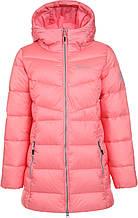Куртка утепленная для девочек Outventure, Розовый, 128