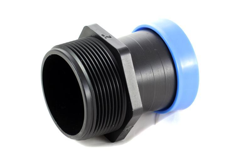 Стартер Presto-PS з різьбленням 50 мм для шлангу туман Silver Spray 50 мм, в упаковці - 10 шт. (GSM-015063)