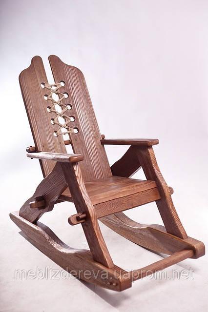 кресло качалка деревянная эксклюзив цена 2 900 грн купить в киеве
