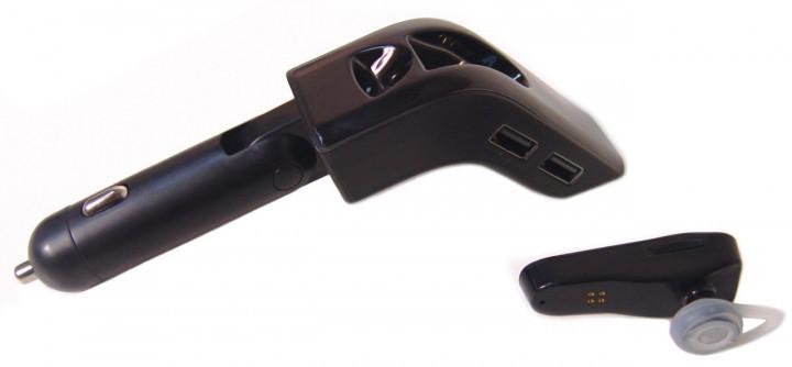 FM трансмітер V9 BT модулятор, Black