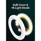 Кольцевая LED лампа L07 16 см с держателем для телефона и треногой, фото 9