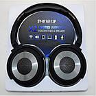 Наушники беспроводные Bluetooth X2 SY-BT1611SP + колонка 2в1, Чёрный, фото 5