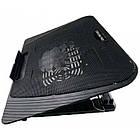 Охолоджуюча підставка для ноутбука № 151, Чорний, фото 2