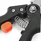 Прищепний Секатор професійний Huafa Grafting Tool 3 двосторонні насадки, фото 6