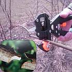 Прищепний Секатор професійний Huafa Grafting Tool 3 двосторонні насадки, фото 8