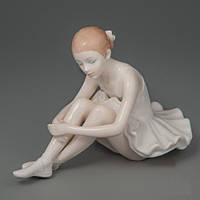 """Фарфоровые статуэтки """"Балерина"""" 11 см 2 вида (2 фото)"""