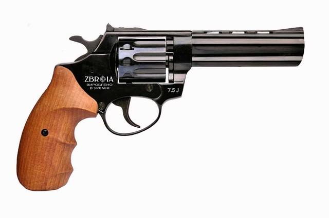 """Револьвер под патрон Флобера PROFI 4.5"""" (бук)"""