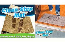 Супер всмоктуючий придверні килимок Clean Step Mat