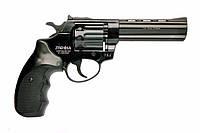 """Револьвер под патрон Флобера PROFI 4.5"""" черный пластик"""