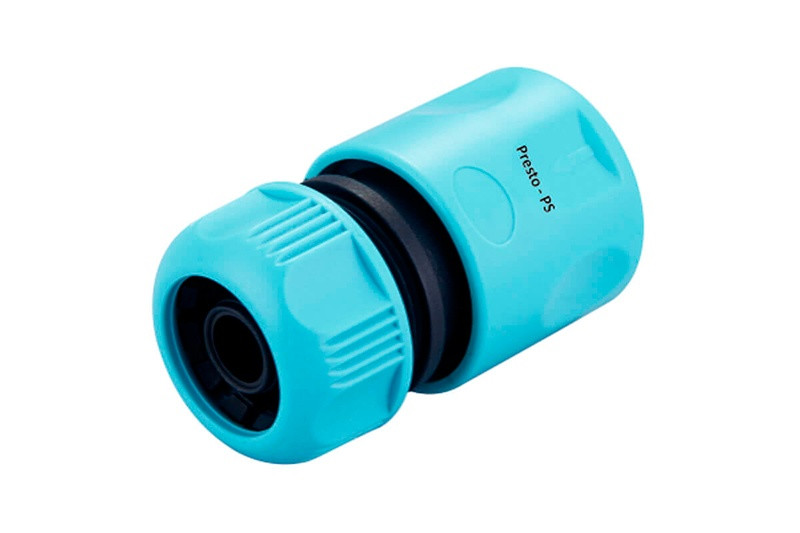 Коннектор Presto-PS для шланга 1/2 дюйма без аквастопа, в упаковке - 30 шт. (7728)