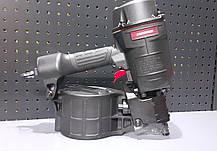 Пистолет гвоздезабивной пневматический барабанный для поддонов ящиков 45-70 магазин 300 гвоздей AEROPRO MCN70, фото 3