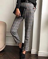 Жіночі стильні штани в клітку