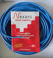 Двухжильный нагревательный кабель для теплого пола Nexans TXLP/2R 300 (1,8 - 2,6 м²), фото 1