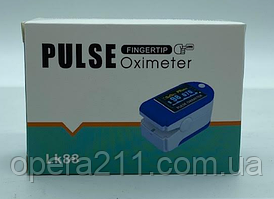 MED - Пульсометр на палець / PULSE OXIMETER -- COLOR DISPLAY LK-88 (200шт)