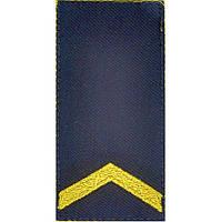 Погон НГУ, темно-сині,  старший солдат