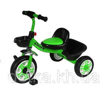 Детский трехколесный велосипед, TILLY DRIVE Т-318