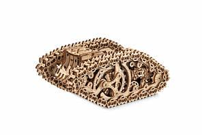Конструктор деревянный Стим-Танк Wood Trick / ВудТрик. 100% гарантия качества (Опт, дропшиппинг).