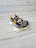 Кросівки для хлопчиків W. niko *світяться 17р, 11.5 см, фото 5