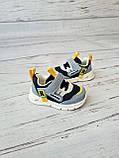 Кросівки для хлопчиків W. niko *світяться 17р, 11.5 см, фото 7