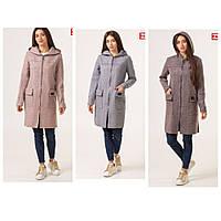 Женский кардиган - пальто на молнии Цвета