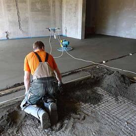 Машинна стяжка підлоги
