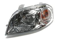 Фара Chevrolet Aveo T250 06-11 левая (Depo) электро рег. 96650521