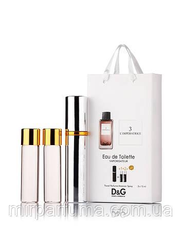 Міні парфуми з феромонами 45ml Dolce & Gabbana 3 L ' imperatrice, фото 2