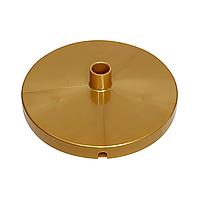 Подставка D150 мм на трубу D16 мм золотая