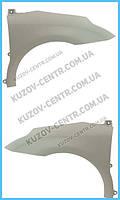 Крыло переднее левое Citroen C4 05-10 (пластик) (FPS) 7840Q3