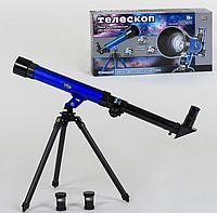 Ігровий набір дитячий Досліди Телескоп настільний 9866 Play Smart, 3 окуляра, із збільшенням у 20х, 30х і 40х
