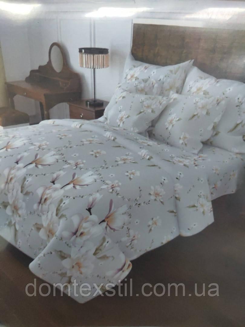 Полуторное постельное белье в бязи.