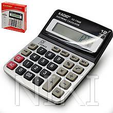 Калькулятор настільний Kadio KD-9933 12-розрядний (200х160мм)
