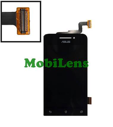 Asus A400C, A400CXG, ZenFone 4 Дисплей+тачскрин(модуль) черный, фото 2