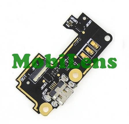 Asus A502CG, ZenFone 5 Lite, T00K Шлейф з роз'ємом зарядки і мікрофоном, фото 2