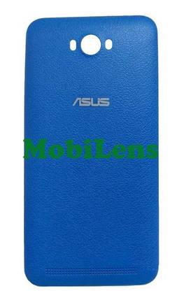 Asus ZC550KL, Zenfone Max, Z010D, Z010DA, Z010DD Задняя крышка голубая, фото 2