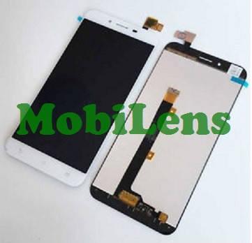 Asus ZC553KL, X00DD, Zenfone 3 Max Дисплей+тачскрін(модуль) білий, фото 2