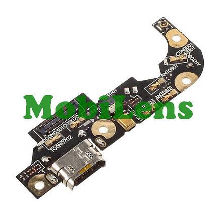 Asus ZE552KL, ZenFone 3, Z012S, Z012DE Шлейф с разъемом зарядки и микрофоном, фото 2