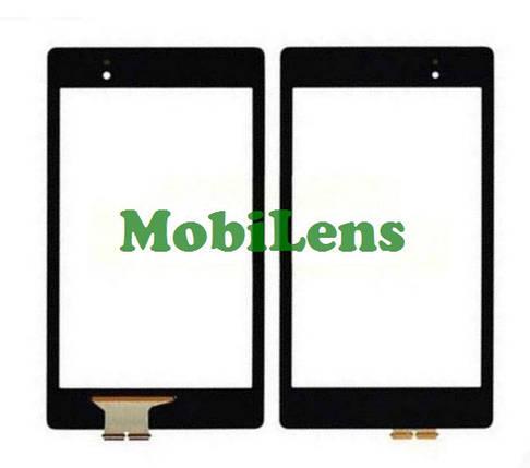 Asus Nexus 7, 2013 Gen 2, MOB30X, K007,K008,K009, ME571KL,ME572C, MOB30X Тачскрин (сенсор) черный, фото 2