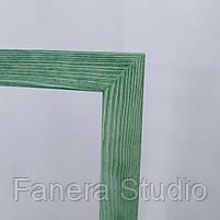 Зеркало напольное в деревянной раме зеленый, фото 5
