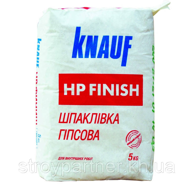 Шпаклівка фінішна Knauf HP Finish (5 кг)