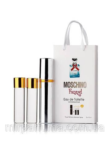 Оптом набор духов 45ml Moschino Funny мини парфюмерия 3*15, фото 2