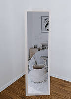 Зеркало напольное в деревянной раме сосна белая, фото 3