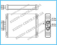Радиатор печки VW Polo / Skoda Fabia / Seat Ibiza (FPS) FP 74 N175