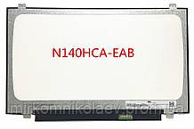 Матрица 14.0 N140HCA-EAB REV.C5  IPS  FullHD 1920*1080 30pin eDP ушки сверху-снизу