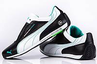 Мужские кроссовки из натуральной кожи Puma Mersedes Amg Petronas