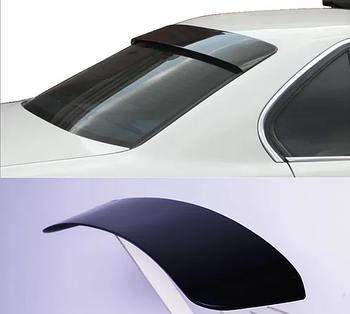 Спойлер заднього скла козирок широкий Anv-Air для Mitsubishi Lancer X 2007-