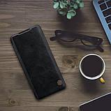 Защитный чехол-книжка Nillkin для Xiaomi Mi 11 (Qin leather case) Black Черный, фото 7