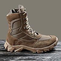 Берцы зимние / военная, тактическая обувь АЛЬФА (coyote), фото 1