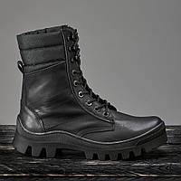 Берцы демисезонные / военная, рабочая обувь TOR2 (черный), фото 1